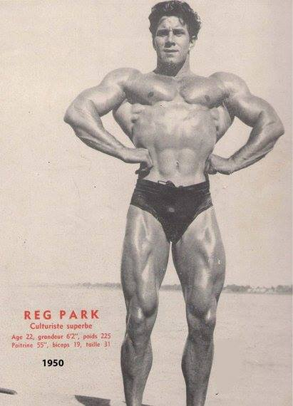 Reg Park Posing
