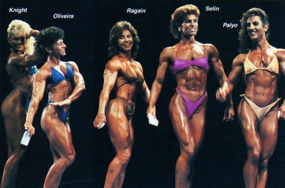Tonya Knight, Dona Oliveira, Janice Ragain, Marjo Selin, and Cathey Palyo Posing