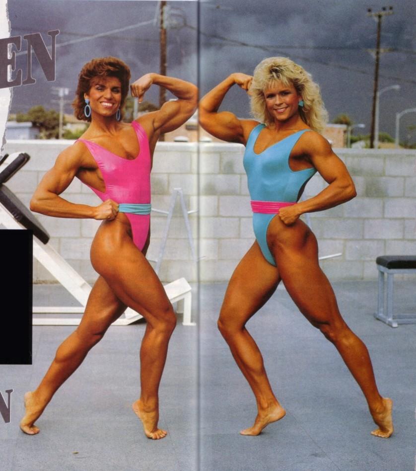 Marjo Selin and Tonya Knight Posing
