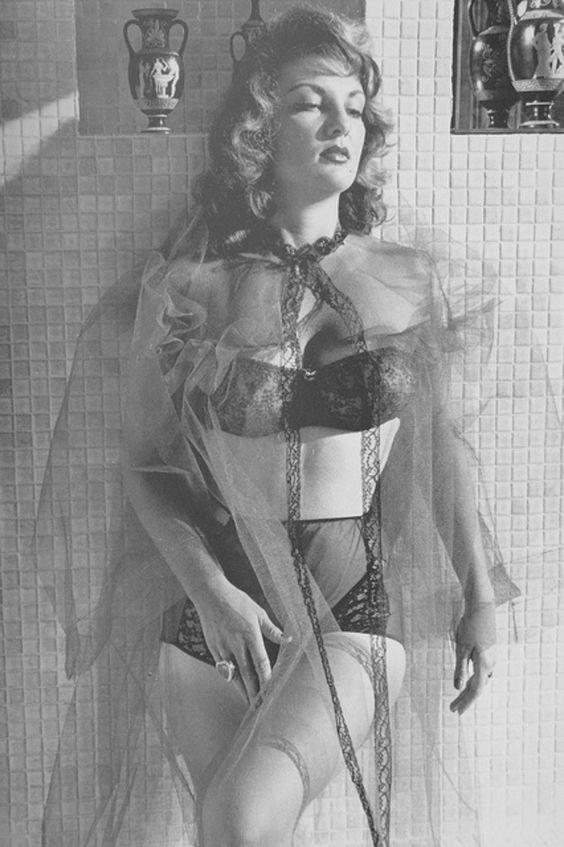 Allison Hayes Posing