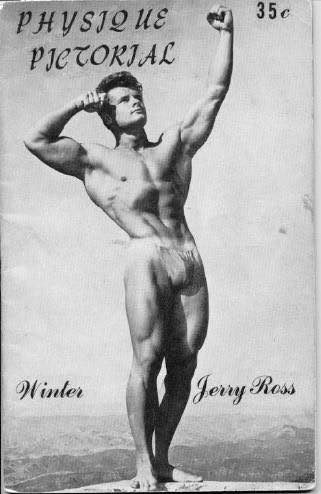 Jerry Ross Posing
