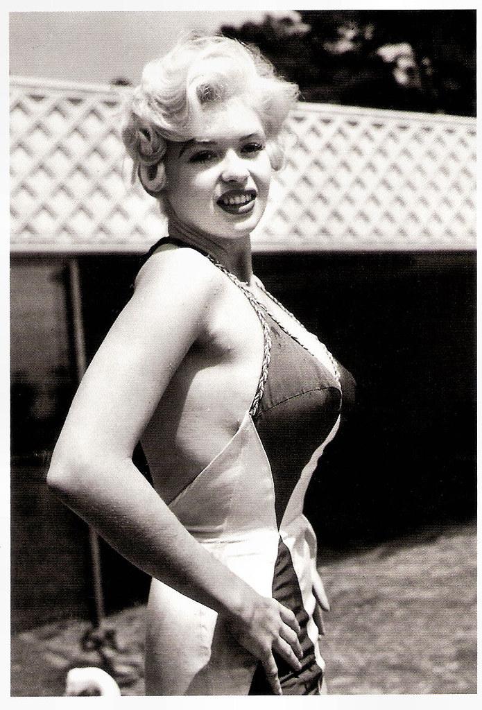 Jayne Mansfield Posing