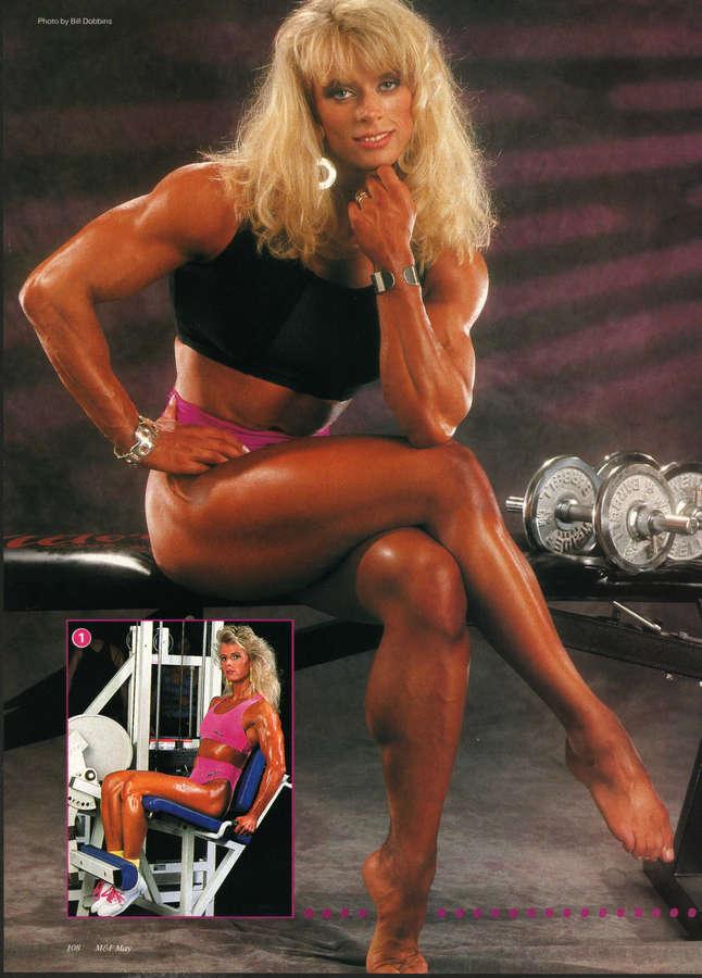 Anja Schreiner Posing