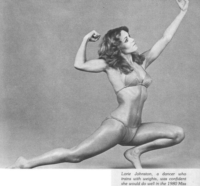 Lorie Johnston Posing