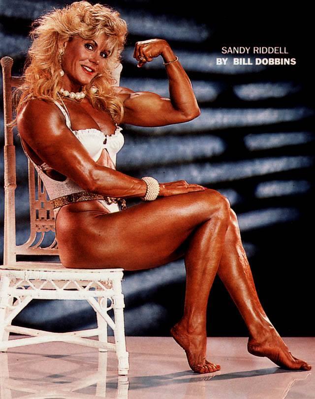 Sandy Riddell Posing