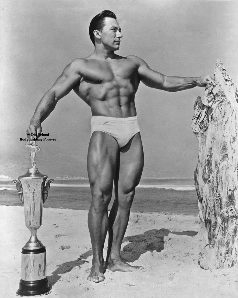 John Farbotnik Posing oldschool bodybuilding forever
