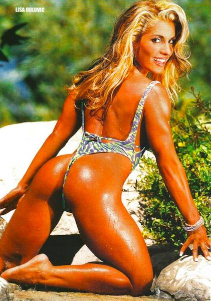 Lisa Dulovic Posing