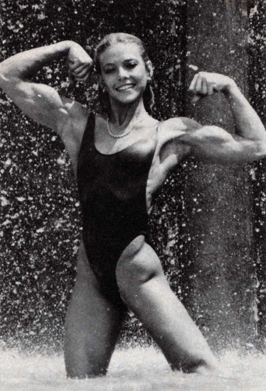 Krista Parr Anderson Posing