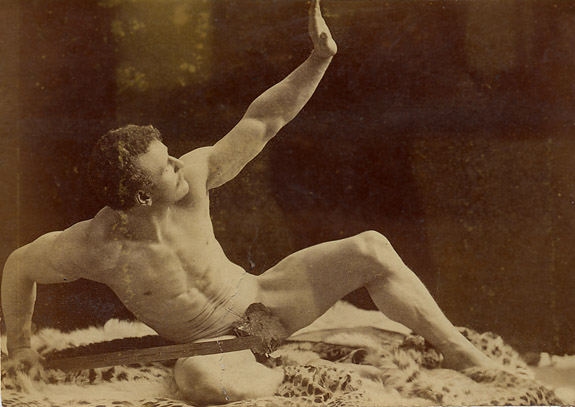 Eugen Sandow Posing