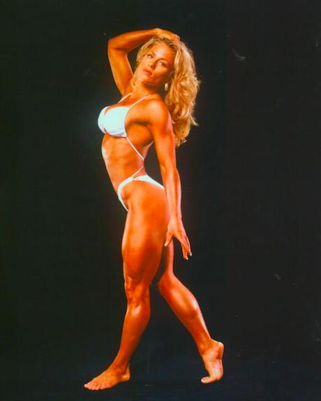 Monica Brant Posing
