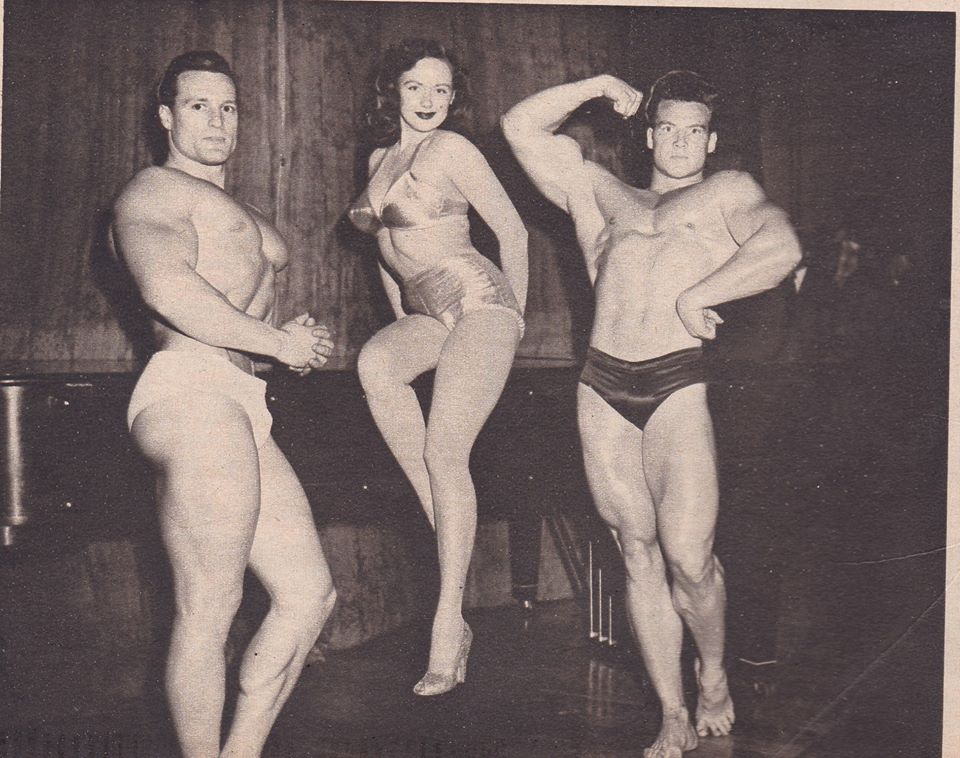 Clarence Ross, Val Njord, and Steve Reeves