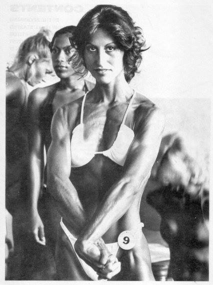 Patsy Chapman and Rachel McLish Posing
