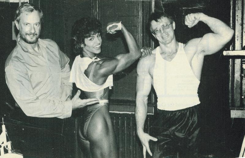 Bob Kennedy, Marjo Selin, and Greg Zulak Posing