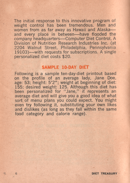06 Diet Treasury 1970