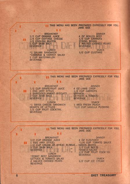 08 Diet Treasury 1970