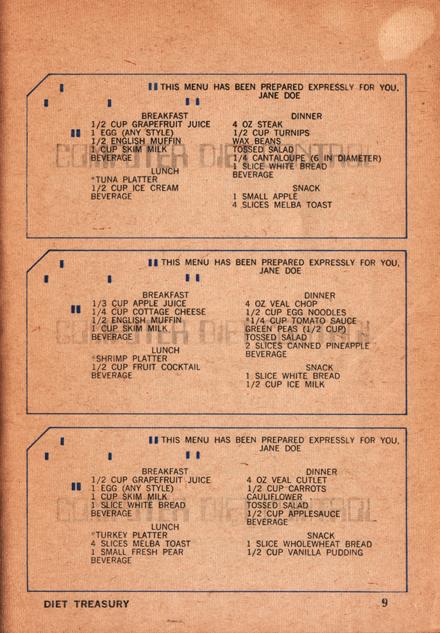 09 Diet Treasury 1970