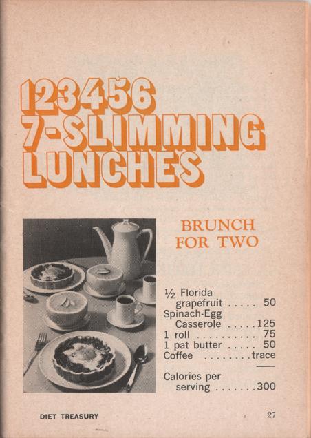 16 Diet Treasury 1970