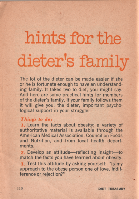 23 Diet Treasury 1970