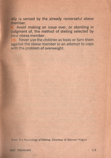 26 Diet Treasury 1970