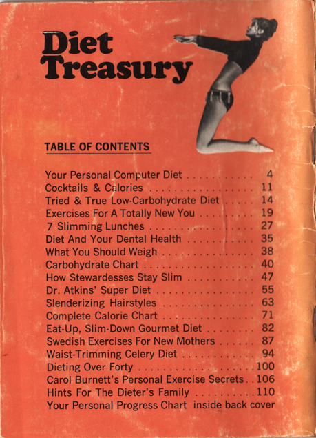27 Diet Treasury 1970