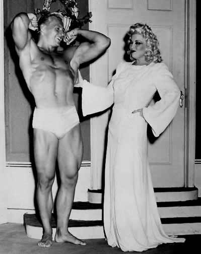 Alan Stephan and Mae West Posing