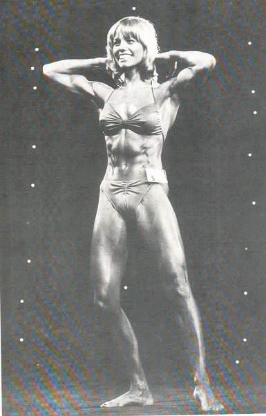 Susie Green Posing