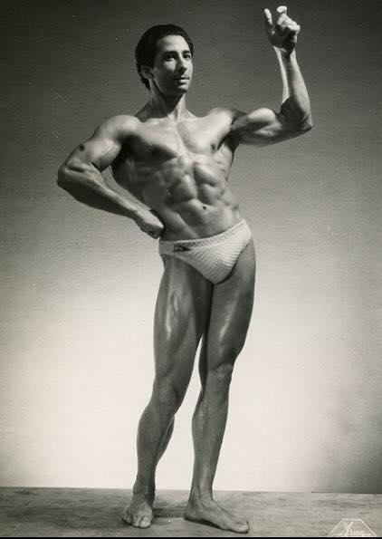 Juan Ferrero Posing