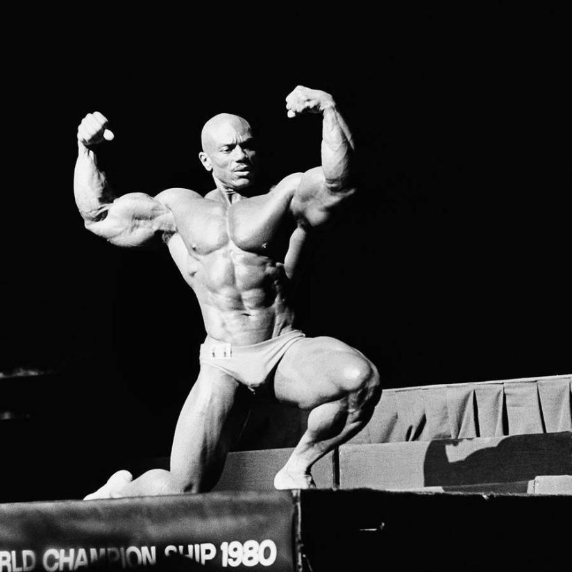 Sergio Oliva Posing part 9