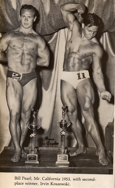 Irvin Zabo Koszewski and Bill Pearl Posing part 2