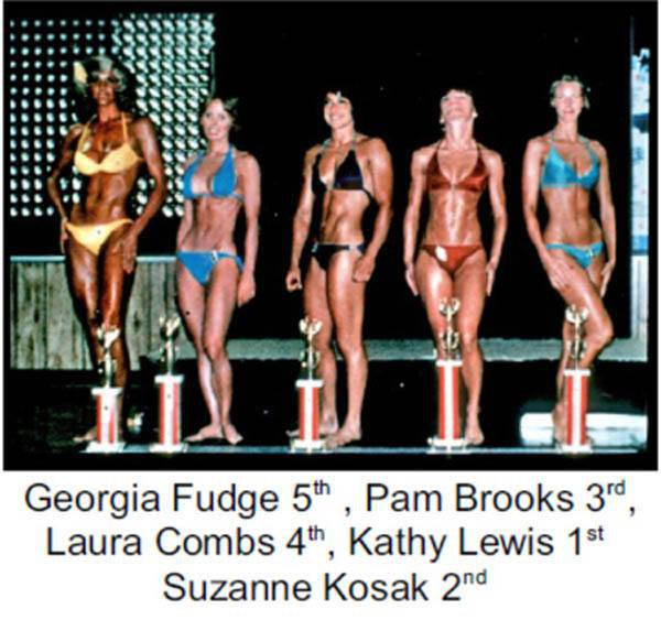 Georgia Fudge, Pam Brooks, Laura Combes, Kathy Lewis, and Suzanne Kosak