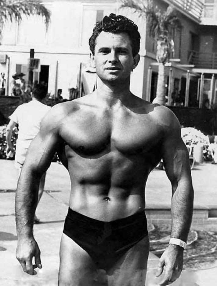 Vince Gironda Posing 2