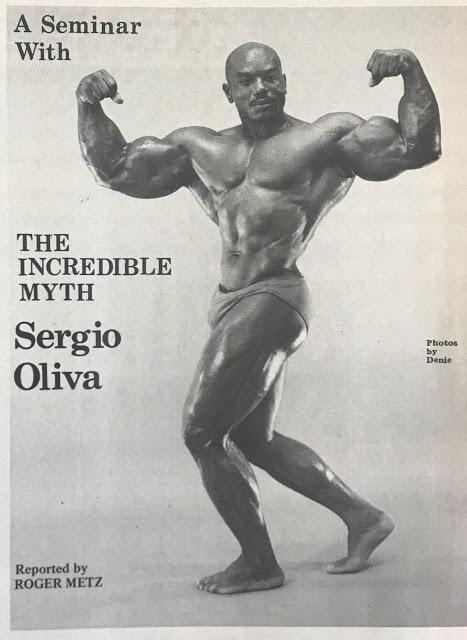 Sergio Oliva Posing part 13