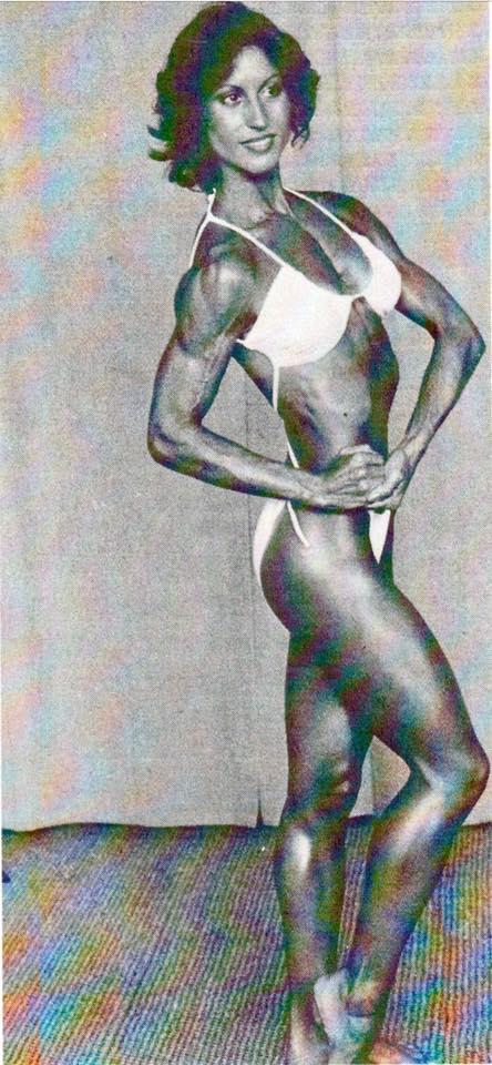 Rachel McLish Posing part 24
