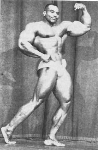 Sergio Oliva Posing part 18