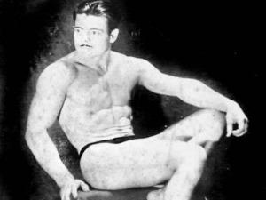 Dick Falcon Posing
