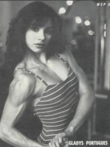 Gladys Portugues Posing
