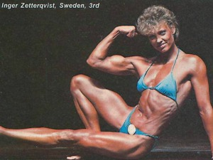 Inger Zetterqvist Posing