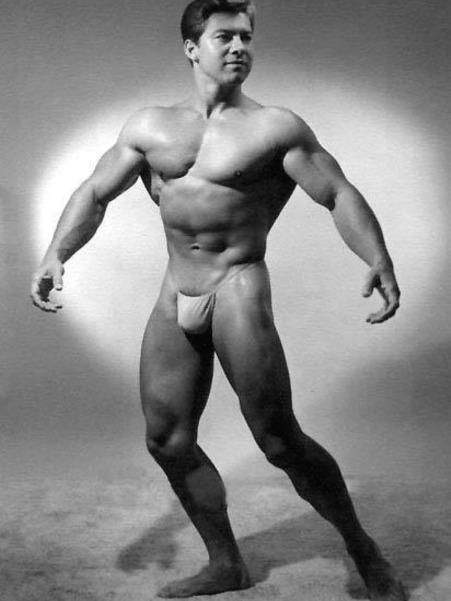 Larry Scott Posing