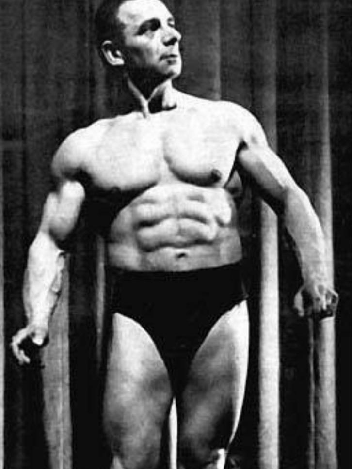 Sigmund Klein Posing