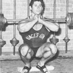 Don Howorth Heels Elevated Front Barbell Squat