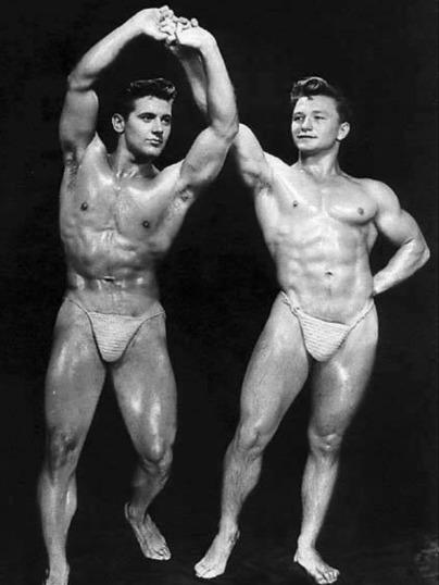 Howard Eastman and Benny Piekaiski Posing