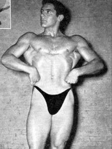 Howard Eastman Posing