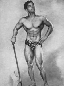 J Chandrasekhar Posing