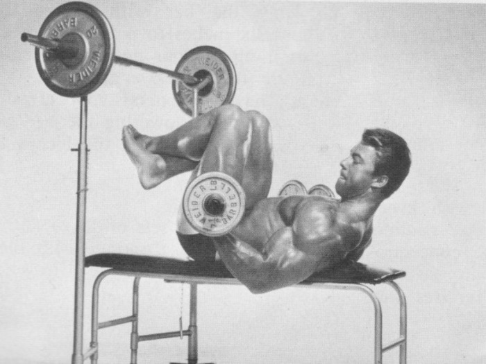 Larry Scott Supine Curl