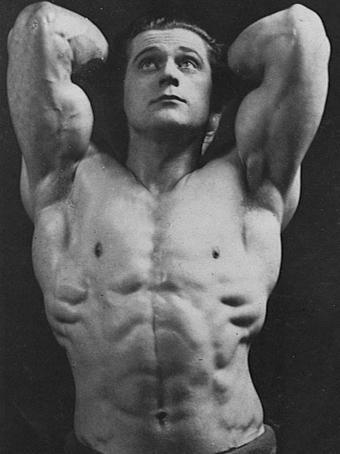 Ronald Walker Posing