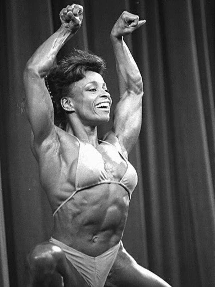 Carla Dunlap Posing