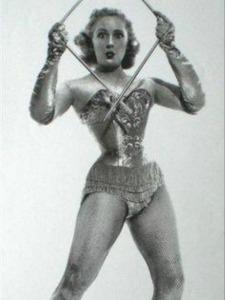 Joan Rhodes Posing