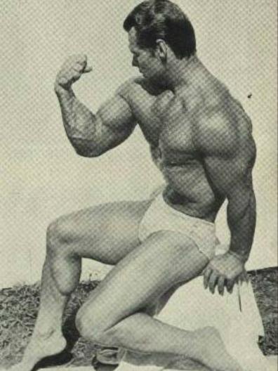 John Grimek Posing