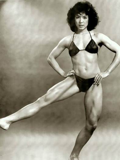 Lydia Cheng Posing
