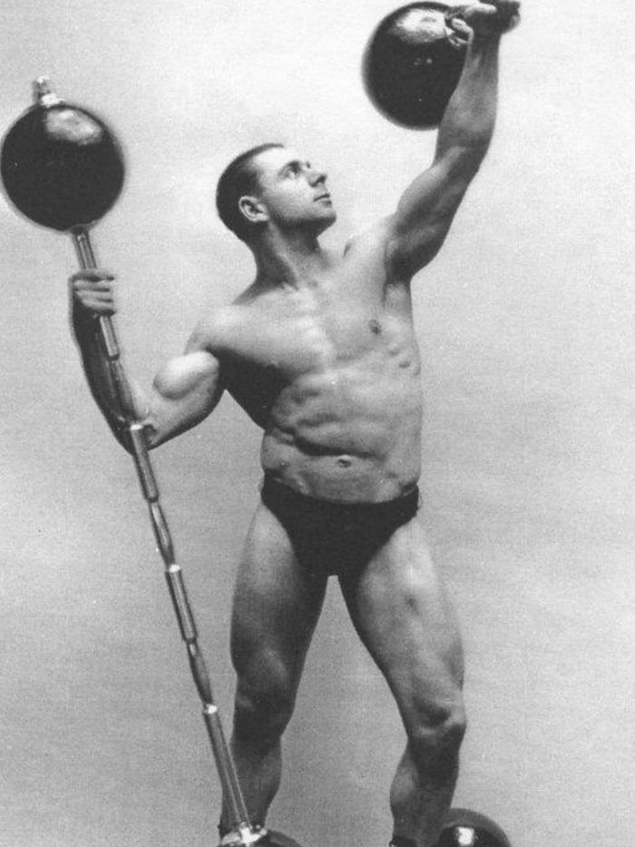 Siegmund Klein Posing